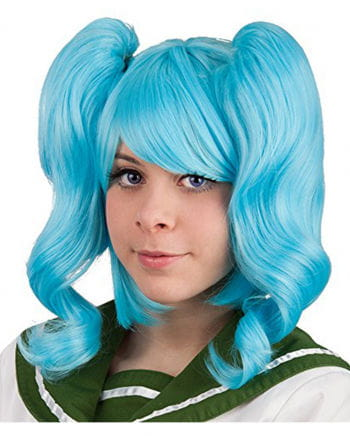 Cosplay a wig turquoise