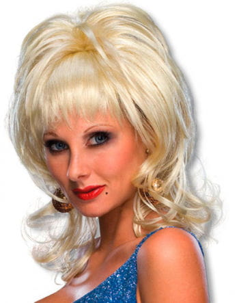 Country Singer Dolly Wig Blond