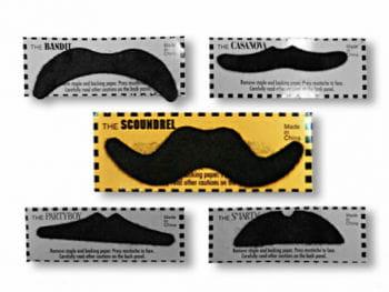 Cowboy Moustache Black