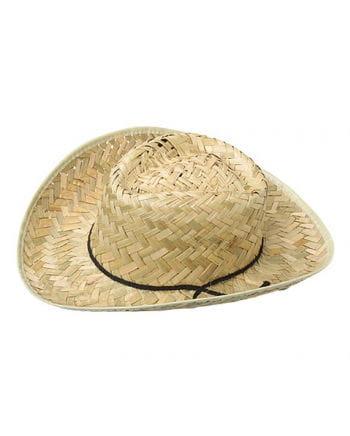 Cowboy Hut aus Stroh