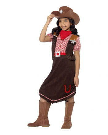 Cowgirl Deluxe Child Costume