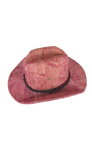 Cowgirl hat jeans look pink