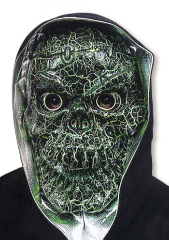 Crakled Skull Mask Green