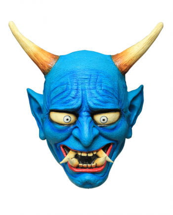 Crazy Demon Maske Blue
