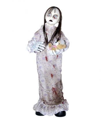 Spooky Girl mit Teddybär