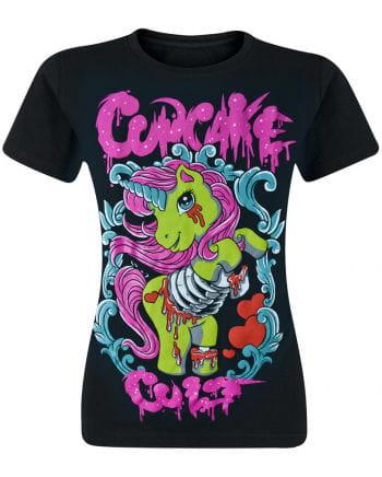 Cupcake Cult Zombie Einhorn T-Shirt