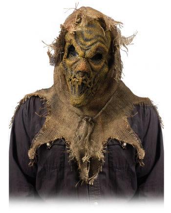 Dämonische Feldvogelscheuche Maske Beige