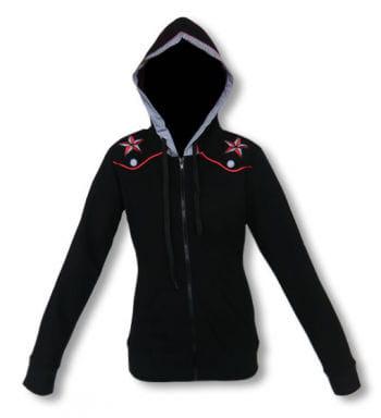 Ladies hooded jacket in Rockabilly Style