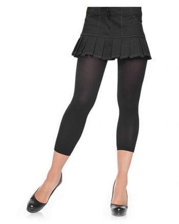 schwarze Nylon Leggings