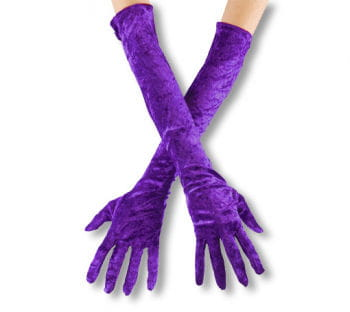 Violette, elbow-length gloves off