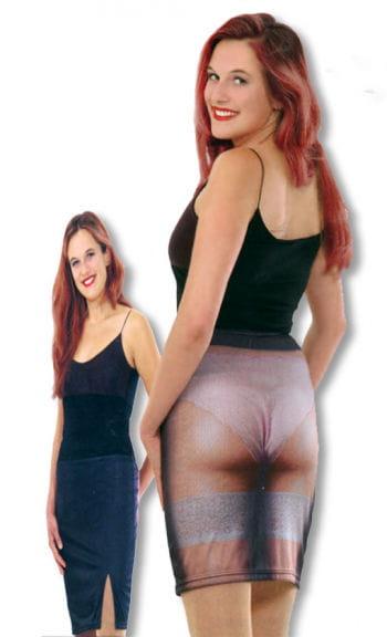 Fake See-Through Skirt Joke Item