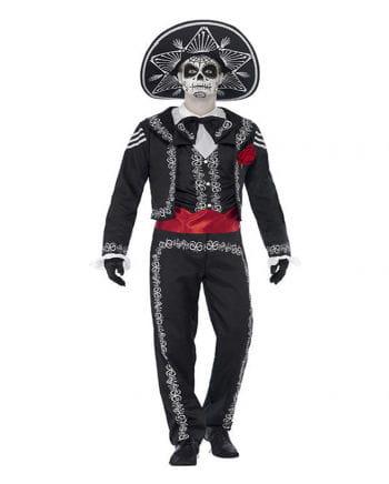 Sugar Skull Herren Kostüm XL
