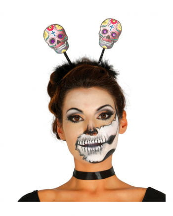 "Haarreif mit Sugar Skulls ""Day of The Dead"""