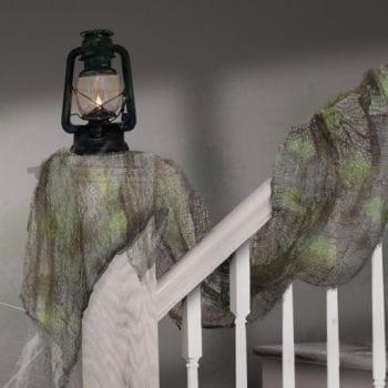 Decoration gauze mesh Blacklight Glow