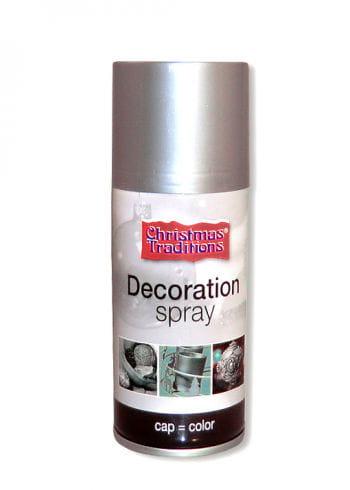 Deko Spray silber
