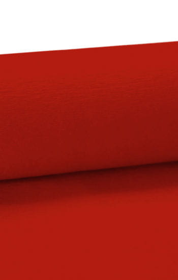 Niflamo decorative crepe red 50 m