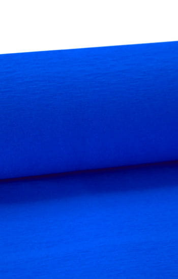 Niflamo decorative crepe blue 10 m