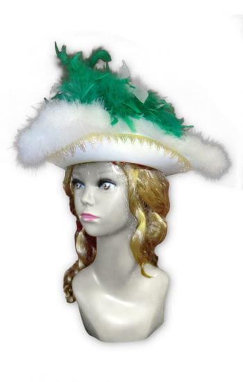 Deluxe Guard hat green / white