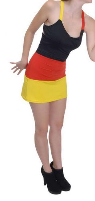 Deutschland Fan Minikleid
