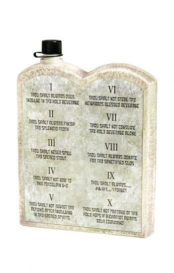 Biblische Schnapsflasche