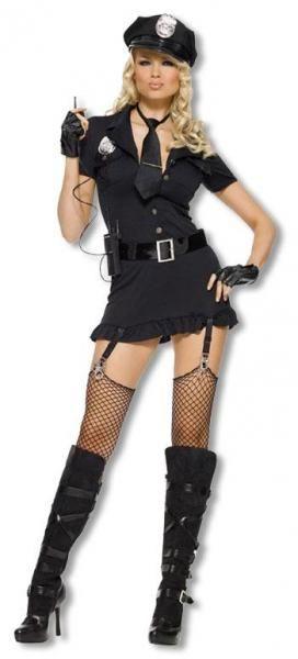 Dirty Cop Kostüm XL
