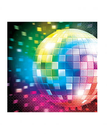 Disco Party Servietten 16 St.