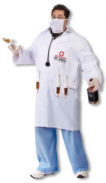 Dr. Shots Docor Costume Plus Size