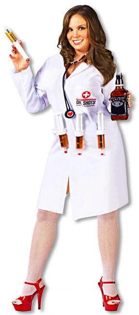 Dr. Shots Krankenschwester Kostüm Plus Size