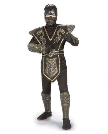 Gold Dragon Warrior Ninja Kostüm Gr. L