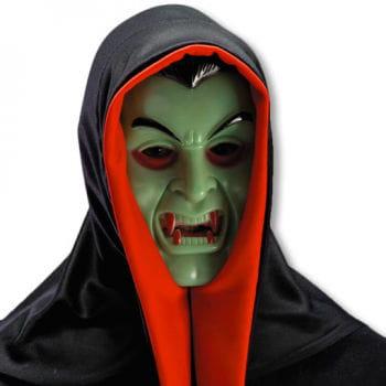 Dracula mask with hood