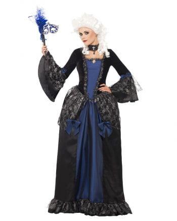 Dunkle Baroness Damen Kostüm