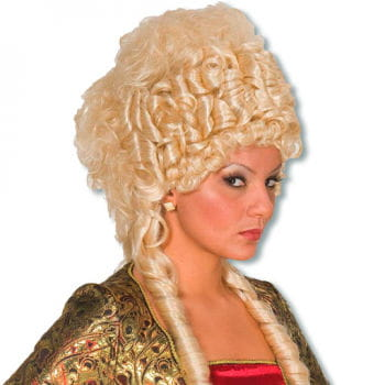 Elegant Gold Curls Wig