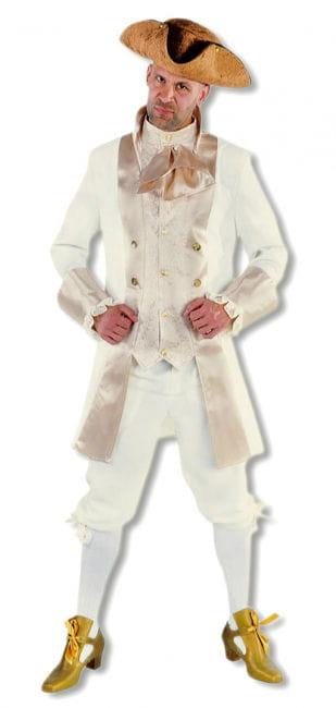 Edles Renaissance Herren Kostüm Beige