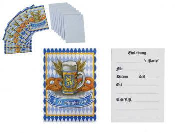 Bierfest Einladungskarten