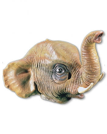 Elephants latex mask