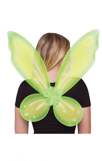 Elf wings green