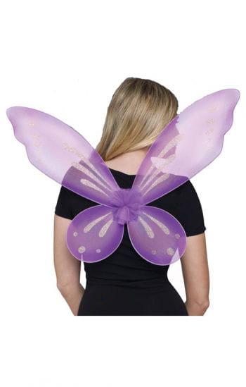 Sexy Elfen Flügel violett