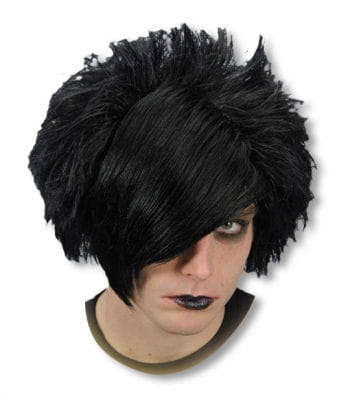 Emo Wig Black