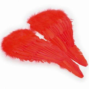 Angel wings red
