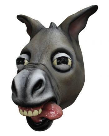 Verrückter Esel Maske aus Latex