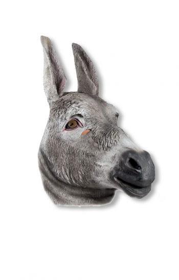 Esel Tiermaske aus Latex
