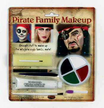 Family Pirate Make Up Set