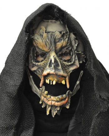 Sensenmann Maske mit Kapuze