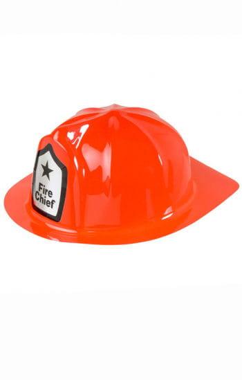 Roter Feuerwehr Helm