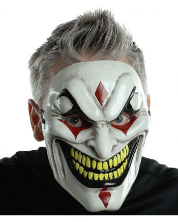 Evil Jester Clownmaske