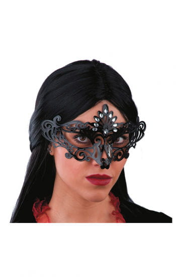 Venetian Eye Mask Black