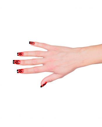 Marienkäfer Fingernägel