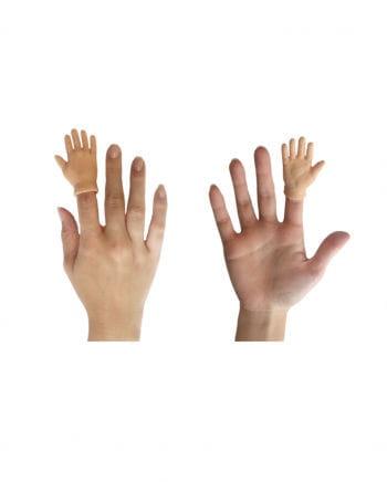 High Five Hand als Fingerpuppe