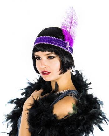 Violettes Flapper Stirnband
