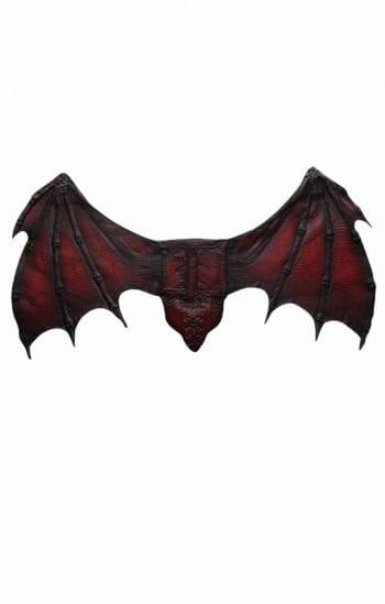 Fledermaus Schwingen rot
